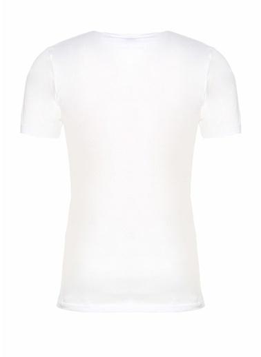 Zimmerli V Yaka Tişört Beyaz